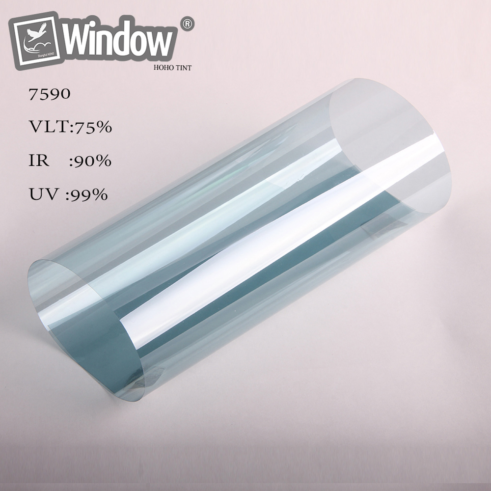 75 VLT Nano Ceramic Film Auto Car Window Solar Home Tint Residential 5 x 100ft