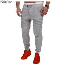 Men's Casual Leisure autumn fashion joggers slim fit pants men pantalons homme sweatpants harem sweat pants pantacourt S-3XL