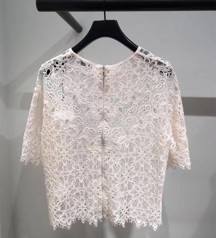 Винтажная рубашка Лолита с длинными рукавами шифоновая кружевная рубашка Весна Осень женская блузка Harajuku Топ - 2