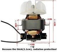 Elektrische blower motor/schoonheidssalon föhn gebruikt in high power motor/reparatie 1500 w boven speciale motor + EEN extra blade|Ventilatoronderdelen|Huishoudelijk Apparatuur -