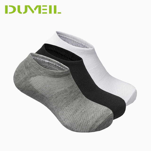 bdb3082f1ac 3Pairs Lot 85% Cotton High Elastic Men Socks Slippers Soft Breathable  Stealth Socks Thickening