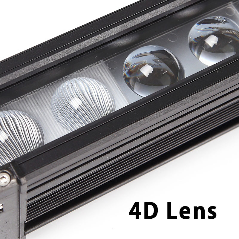 Image 3 - XuanBa 4D Lens 11 Inch 60W Led Work Light Bar For Motorcycle Atv Suv Truck 12V Driving Lamp 24V Spot Combo 40 4x4 Off Road Bar-in Light Bar/Work Light from Automobiles & Motorcycles