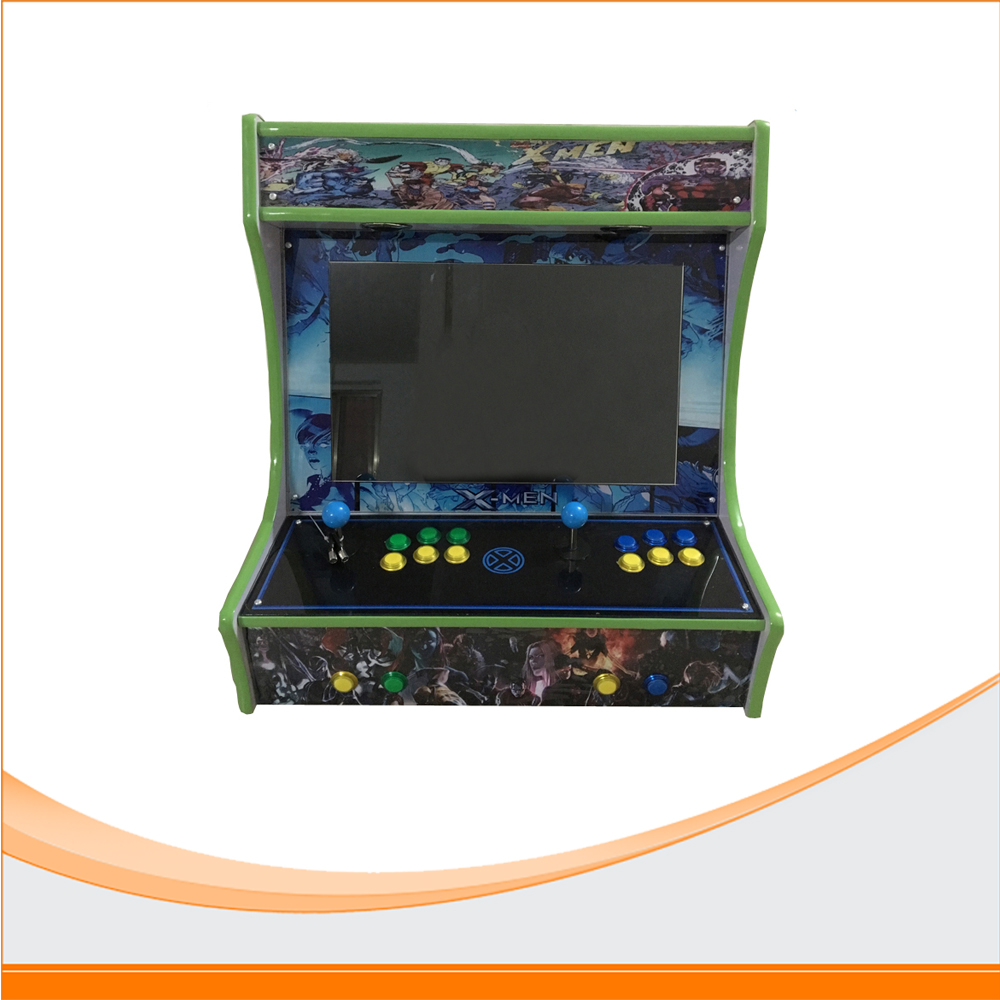 22'' Mini Arcade Game Machine Classical 815 in 1 Game Machine new arrival mini coin operated arcade machine with classical game horizontal 815 in 1 game pcb