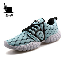 Adult Running Shoes Men's Sneakers Breathable Mesh Weaving Lightweight Sport Shoes Professional Outdoor Walking Athletic Shoes