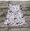 Girls Summer Latest Design Fashionable Casual Flutter Dress Children S Mickey Dress