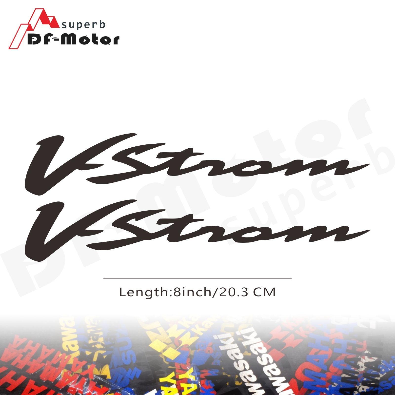 8Inch Reflective Sticker Decal Motorcycle Car Sticker Wheels Fairing Helmet Sticker Decal For Suzuki V-Strom
