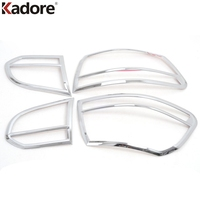 For VW Volkswagen Golf 6 MK6 2009 2010 2011 2012 2013 ABS Chrome Taillight Cover Trim