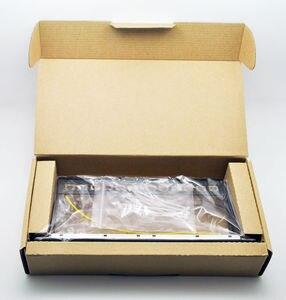 Image 4 - Panneau de raccordement blanc 12ports, adapté aux modules keystone cat.5e/cat.6, support de 10 pouces Barre de Support pour la gestion des câbles