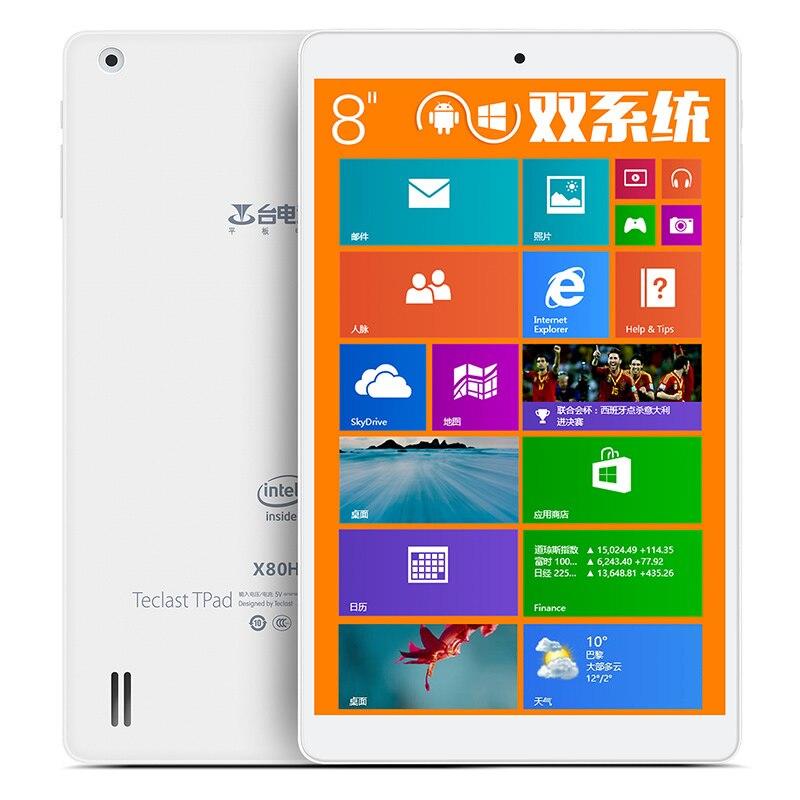 Teclast X80H X80HD Dual Boot 8 Inch Z3735F Windows 8.1+ Android 4.4 Tablet PC 1280x800pixels IPS Screen 2GB/32GB HDMI ainol mini pc ii windows 8 1 android 4 4 dual boot intel z3735f