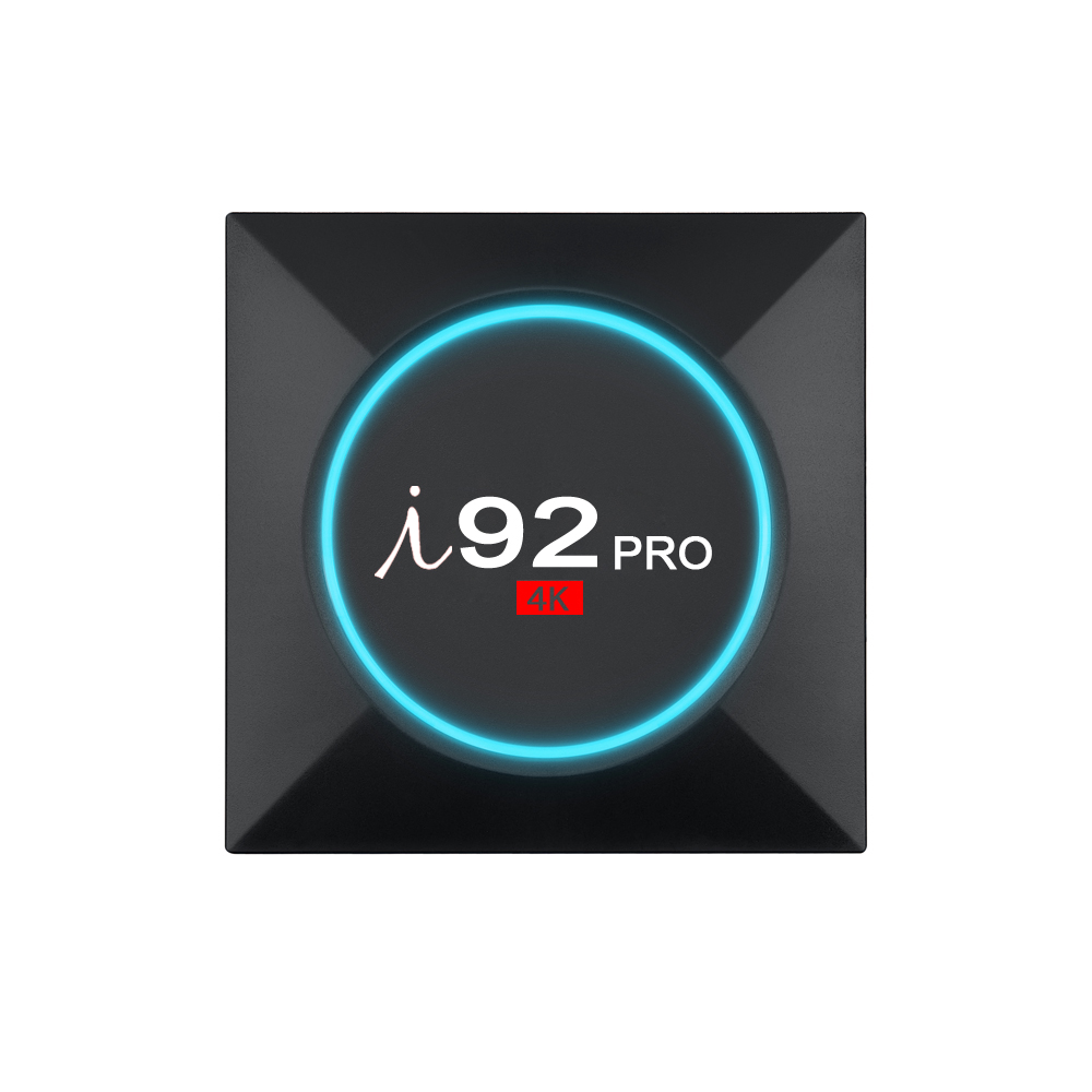 i92 PRO Android TV Box Amlogic S912 CPU Support 2.4 / 5.8GHz WiFi 4K H.265 BT4.0 Ethernet 1000M ARM Mali-T820MP3 Bluetooth4.0 edal qii android 6 0 smart tv box amlogic s912 octa core cpu up to 2ghz arm mali t820mp3 gpu 2 16 gb