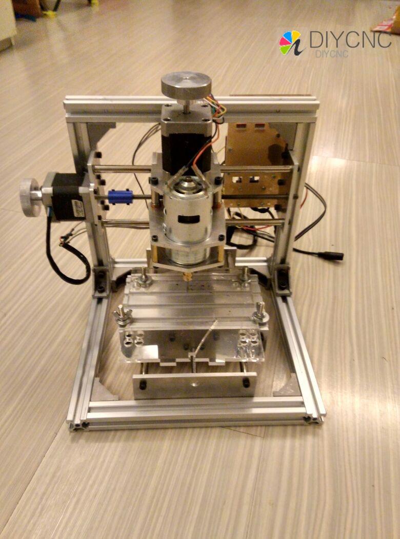 Fraiseuse PCB arduino CNC BRICOLAGE CNC Sculpture Sur Bois Mini Machine De Gravure PVC Moulin Graveur Soutien GRBL contrôle