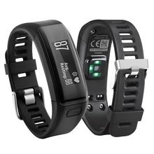 цена Watch Strap Replacement For Garmin Vivosmart HR Soft Silicone Bracelet Strap For Garmin Vivosmart HR smart watch Link WristBand онлайн в 2017 году
