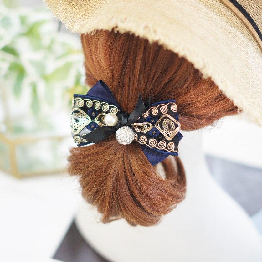 """Summer Ice Lolly Glitter hair bow 3.5/"""" Rose ICE CREAM hair bow clip"""