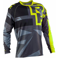 Race Face Mountain Bike Downhill DH AM Seventh Sleeve Cycling Jerseys Male Cross Country Unlined Upper