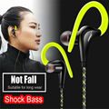 New Ear Hook S760 Sport Earphone Stereo HIFI Metal Bass Headphone with Mic 3.5mm Headset for iphone Samsung Android Phone FONGE