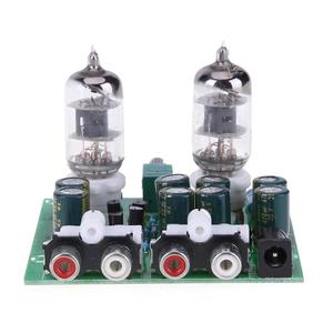 Image 4 - Комплект трубного усилителя 6J1, Diy комплект усилителя, Hi Fi стерео электронный трубчатый предусилитель, плата предусилителя лампа, модуль усилителя, усилитель