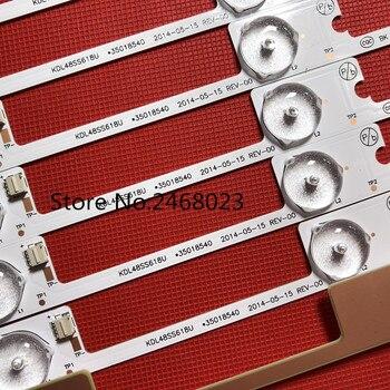 """20 Pieces/lot new LED backlight bar strip for 48""""TV KDL48JT618A KDL48JT618U 35018539 35018540 6 LEDS(6V) 442mm"""