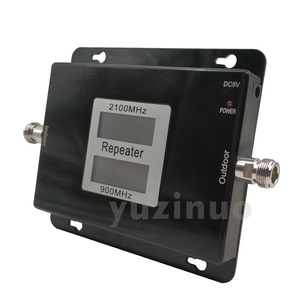 Image 5 - 65dB Gain 17dBm AGC Dual Band Repeater Band 8 GSM 900 LTE Band 1 3G UMTS WCDMA 2100mhz Cellular Mobile Signal Booster Amplifier