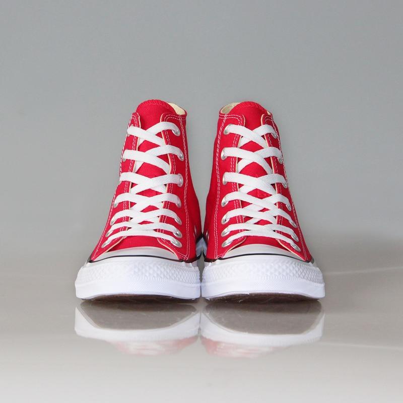 Nouveau Converse all star Chuck Taylor chaussures D'origine hommes femmes sneakers unisexe de Toile Planche À Roulettes Chaussures 102307 - 6