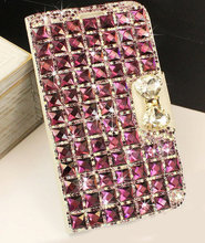 Bling Diamond Flip PU Leather Wallet Case Cover For Samsung Galaxy Note 4 S6 Edge Plus Note 7 S7 Luxury Fashion Phone Cases