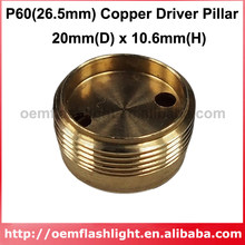 DIY 20mm(D) x 10,6mm(H) de cobre conductor Pilar de P60 (26,5mm) gota-en