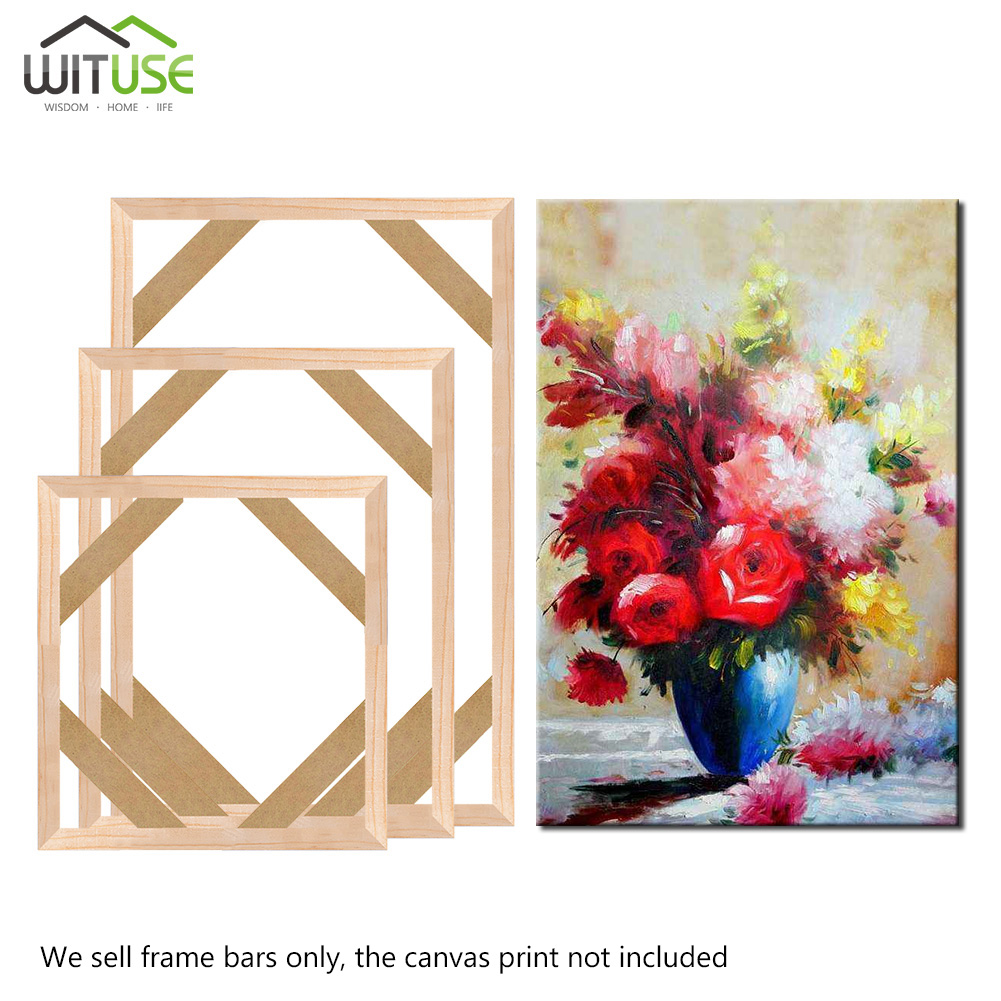 Professional Solid Wooden Frame Kit For Oil Painting
