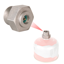 Outdoor Camping Gas Stove Connector Adapter Converter Picnic Cookware Propane Bottle