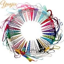 DHL 100 pièces/lot 5 paillettes licorne bandeau pour filles 2020 métallique licorne corne élastique bandeau cheveux enfants fête cheveux accessoires