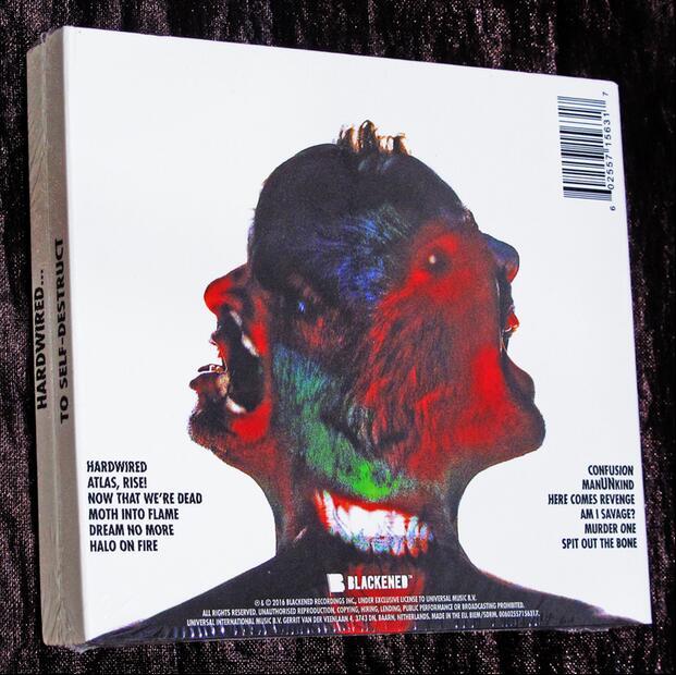 2018 Smok Alien Marsha Rushed Sale Hard Bag Seal Metallica Metal Band 3Cd New -6256