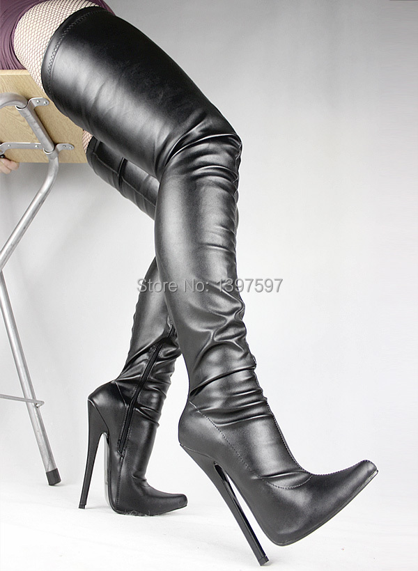Popular Plus Size Thigh High Fetish Boots-Buy Cheap Plus Size ...