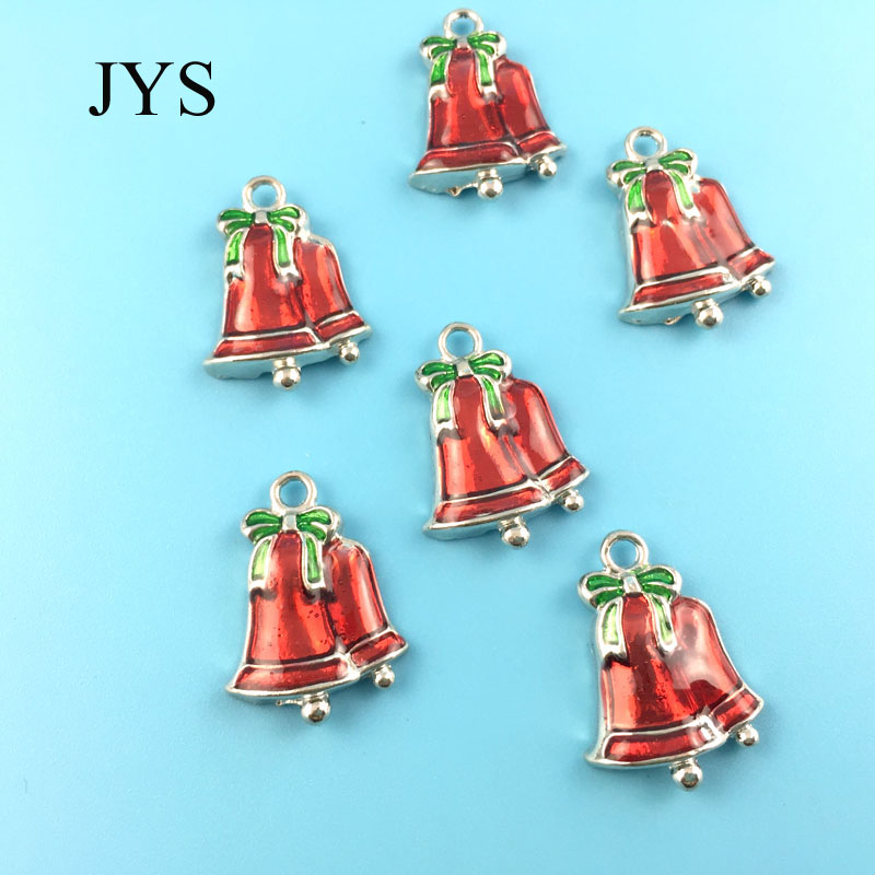 FREE SHIPPING 16*23MM 12PCS/LOT ZINC ALLOY CHARMS METAL CHARMS BELL CHAMRS FOR JEWELRY FINDING FOR NECKLACE BRACELET