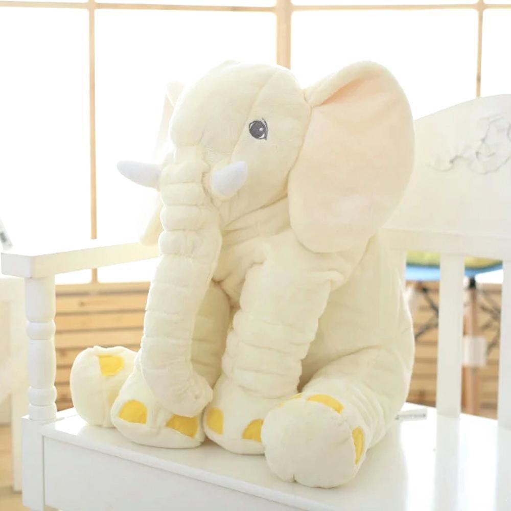 40cm Height Large Plush Elephant Doll Toy  Cute Stuffed Sleep with baby Xmas Gift