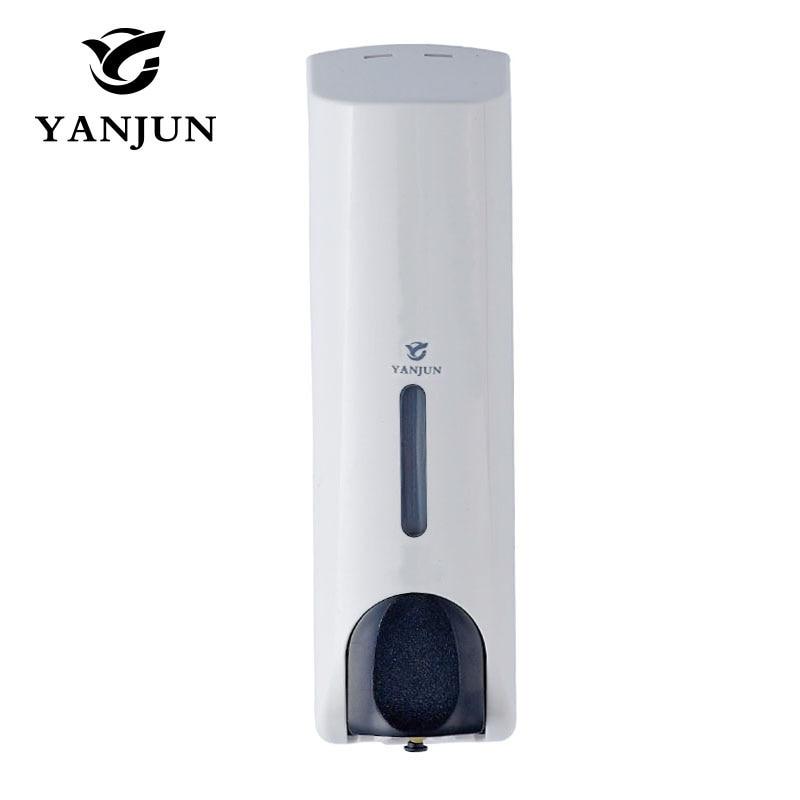 Yanjun 350ml Single Liquid Soap Dispenser Wall Mount Lavatory Bath Shower Accessories White YJ 2532 Innrech Market.com