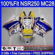 Корпус для HONDA MC28 PGM4 NSR250R 94 95 96 97 98 99 96HM. 7 NSR250 R NSR 250R 1994 1995 1996 1997 1998 1999 Обтекатели Горячие Rothmans