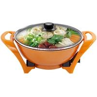 Limited Sale Stainless Pot Kitchen Appliances Accessories Gold Bullions Multifunction Non stick Cooker Pot Electric Fondue