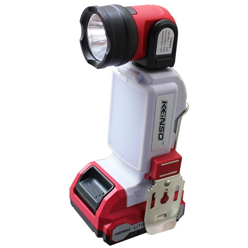 12V portable light led spotlights camping lantern searchlight portable spotlight handheld Flashlight night lamp light car tools