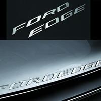Car Styling Chrome Silver Black For 2014 2015 2016 2017 Ford EDGE FORDEDGE Explorer New Metal