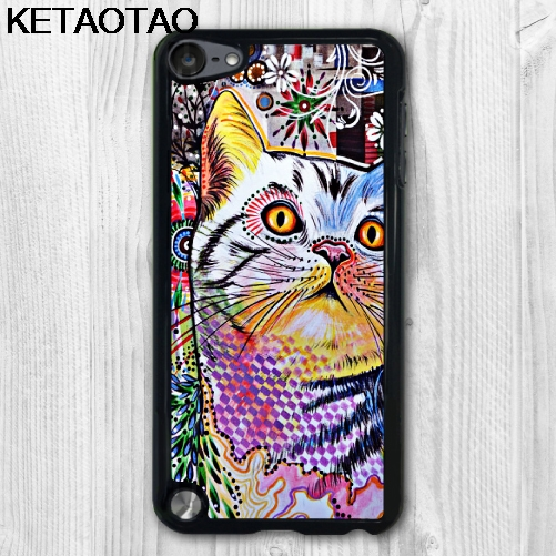 KETAOTAO Bella Fantasia Gatto Animale Phone Cases for iPhone 4S 5C 5S 6S 7 8 SE Plus X for Samsung Case Soft TPU Rubber Silicone