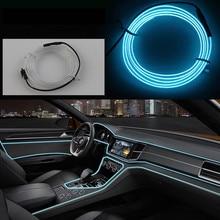 DIY EL car light for BMW X1 F48 X3 F25 X4 F26 X5 E70 F15 X6 E71 E90 F30 F31 F10 F07