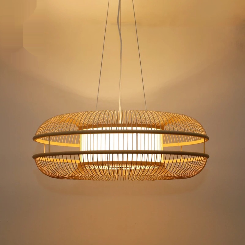Chinese restaurant bamboo chandelier bedroom living room lights Chinese tea Zen bamboo wind round chandelier ZA627 ZL126 chinese chandelier japanese style living room bedroom restaurant bamboo lanterns southeast asia tatami antique tea room box led