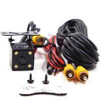 Assistances de stationnement rétroviseur arrière de voiture caméra de recul CCD + LED de secours avec vision nocturne automatique à 170 degrés