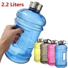 2,2 l libera BPA Grande Palestra Sport Allenamento Da viaggio, 2.2L Fitness bottiglia di acqua BPA LIBERO