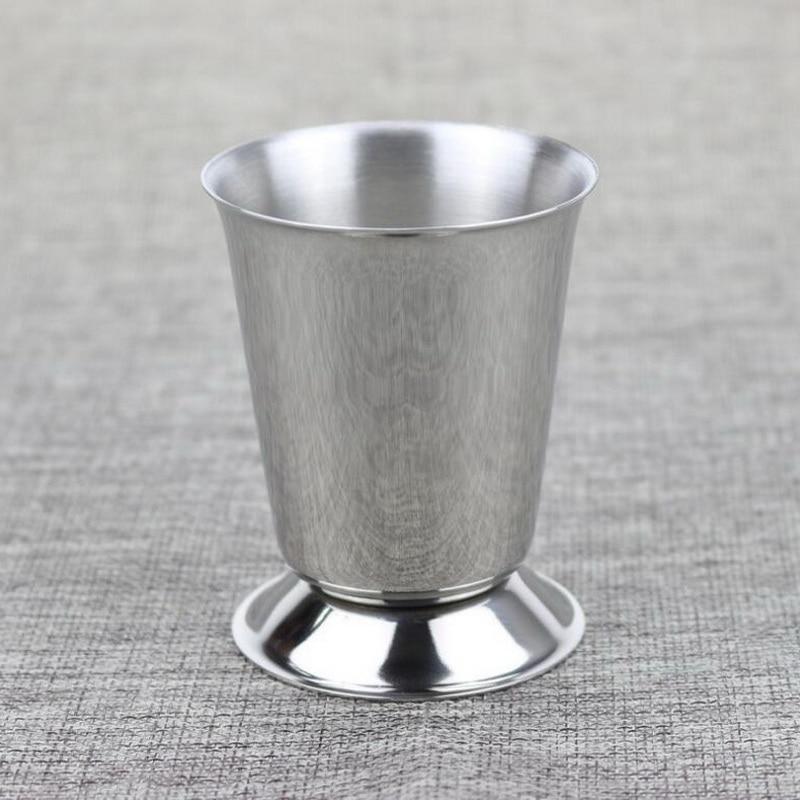 120ML Stainless steel measuring cup mix drinks liquid bar measures metal measuring cup