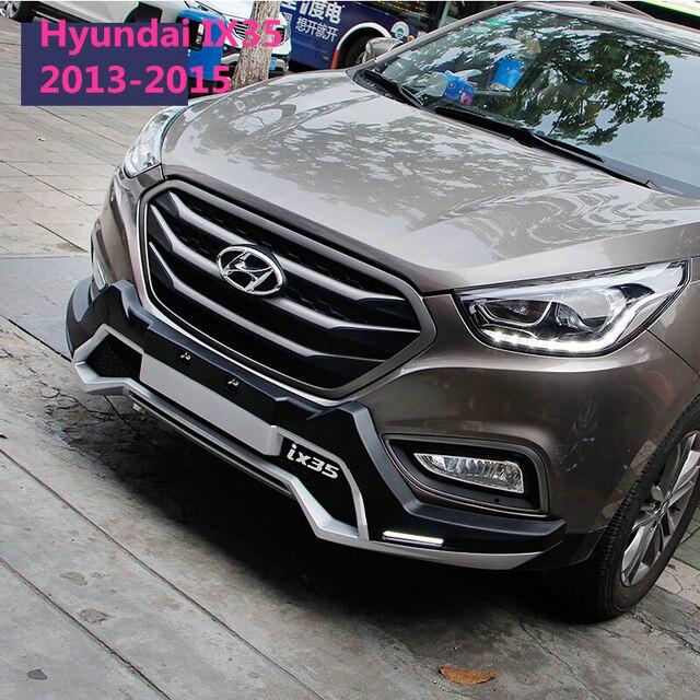 Fit For Hyundai IX35 2009 2017 LED Front+ Rear Bumper