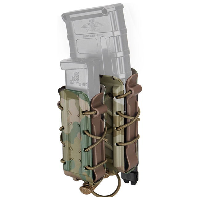 TMC Mag etui 5.56mm 7.62mm karabin magazynek etui Molle Tactical Airsoft 9mm uchwyt pistoletu TMC Poly Carrier polowanie polimer