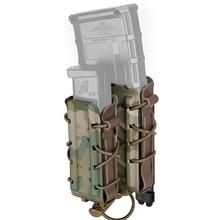 Tmc mag 파우치 5.56mm 7.62mm 라이플 매거진 파우치 molle tactical airsoft 9mm 권총 홀더 tmc 폴리 캐리어 사냥 폴리머