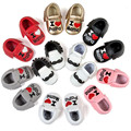 Sapatos de bebê Meninos Unisex Bonito Borlas Pequena barba Cavalheiro Infantil Kawaii Amor Do Coração Sapatos Da Criança Recém-nascidos Primeiros Caminhantes Calçado