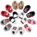 Zapatos de bebé Niños Unisex Lindo Gentleman Borlas Pequeña barba Amor Corazón Kawaii Zapatos de Niño Recién Nacido Primeros Caminante Calzado