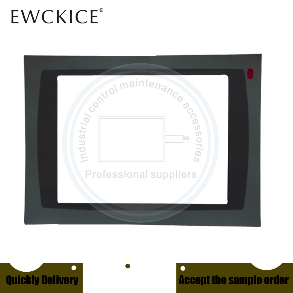 NEW PanelView Plus 1250 2711P-T12C4D1 2711P-T12C4D2 HMI PLC Front label Industrial control sticker