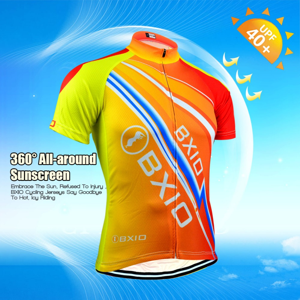 506aac21b BXIO Brand 2018 Cycling Jersey Sets Maillot Ciclismo Hombre Summer Pro Team Bicycle  Clothing Mountain Bike Clothes BX 0209O100-in Cycling Sets from Sports ...